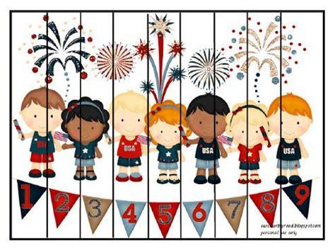 patriotic preschool amp kindergarten pack from our country 553   Patriotic Puzzle b