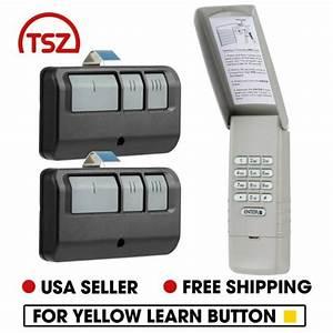 Fit Liftmaster 877lm Wireless Garage Door Keypad Yellow