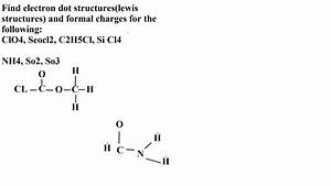Solved  Find Electron Dot Structures  Lewis Structures  An