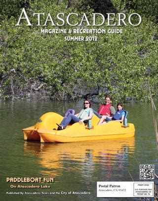 Paddle Boats Atascadero by Issuu Atascadero Magazine By News Media Corp