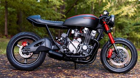 Honda Cb750 Custom Cafe Racer By Industrial Moto