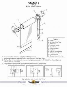 8 Manual Roller Shade System