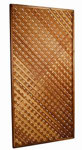 Redwood Lattice Screen 4 U0026 39  X 8 U0026 39  High Rentals
