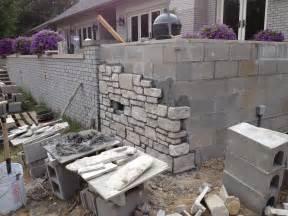 Design Of Basement Retaining Wall by Cinder Block Retaining Wall Stone Facade Splendid Interior