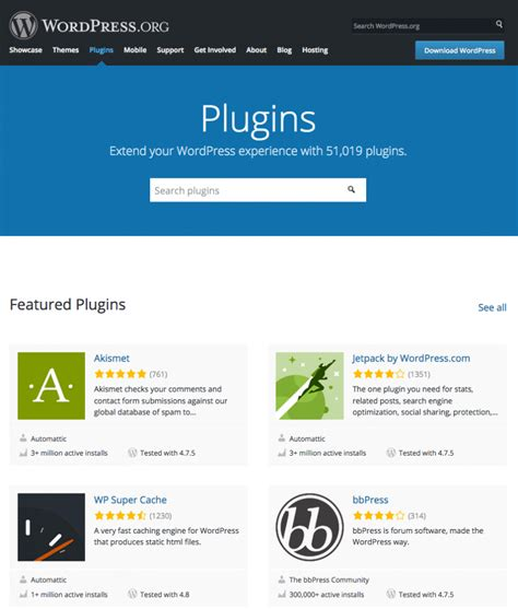 Directory Plugin Why And How To Publish A Plugin To The Plugin
