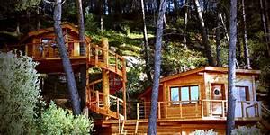 Constructeur Cabane Dans Les Arbres : conception realisations reve de cabane ~ Dallasstarsshop.com Idées de Décoration