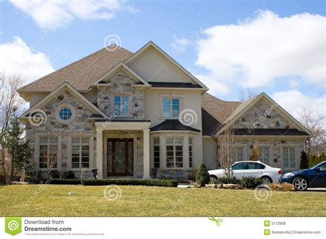 Two Luxury Single Family Houses With And Grey Decor by Grey House Stock Photo Image Of Candid Houses Family