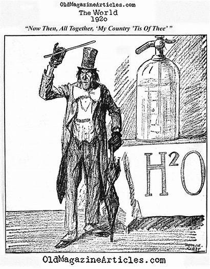 1920s Prohibition Cartoons Political Cartoon 1920 Kirby