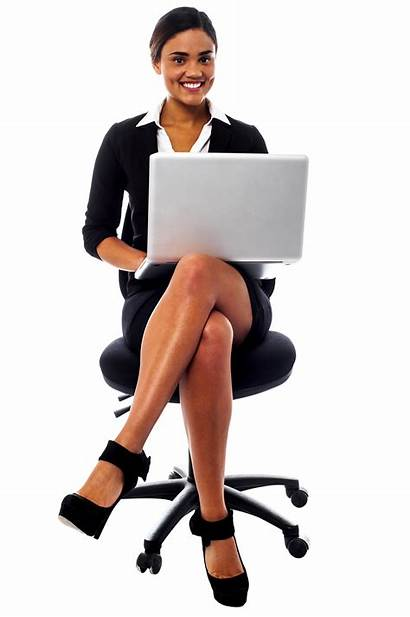 Suit Working Secretary Computer Transparent Sitting Chair