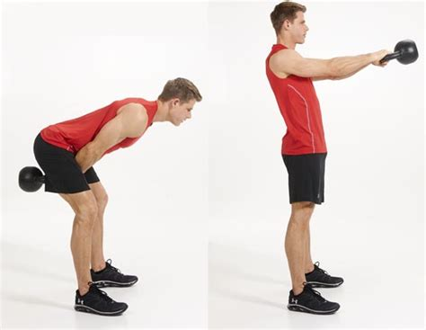 exercises kettlebell swing running cardio calories glutes exercise burn belly than fat workout lose fitness rowing indoor swings bell kettle