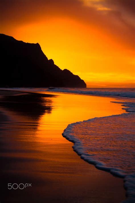 kalalau beach   na pali coast  kauai