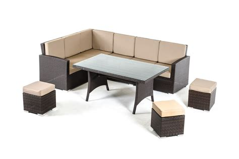 renava kingston modern outdoor dining set