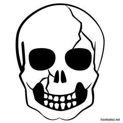 Halloween Decoration Template Templates Stencils Skull Trick