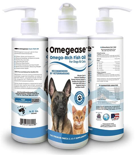 pure omega    fish oil  dogs  cats