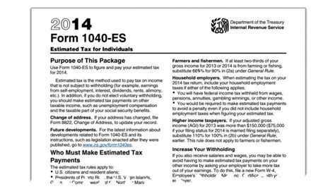 estimated tax payments  questions answered small