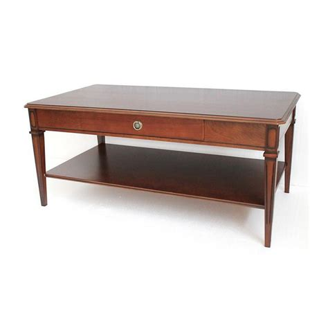 Winchester Mahogany Coffee Table  Furniture Ireland