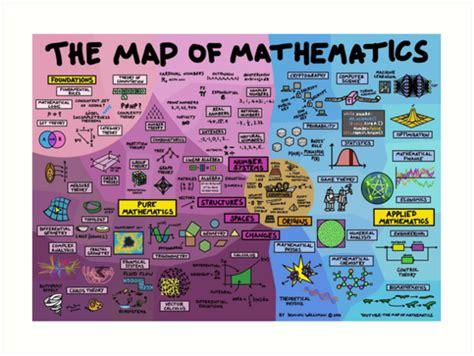 map  mathematics art prints  dominicwalliman