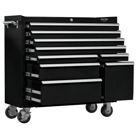 Viper Cabinet - viper tool storage 41 inch 9 drawer 18g steel rolling