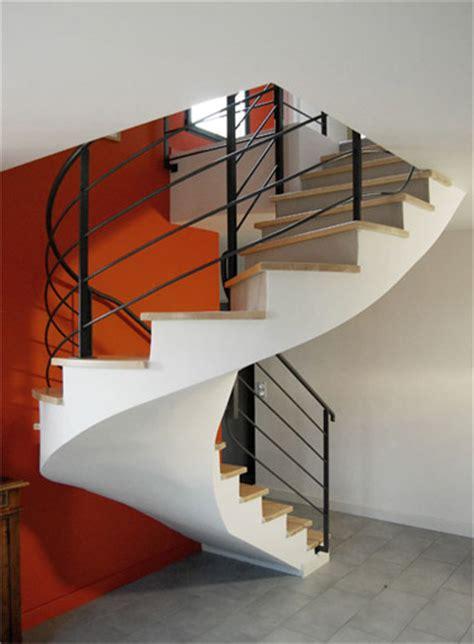 escalier colimaon beton prix scal in pour un particulier en collaboration avec un architecte dans le rh 244 ne 69