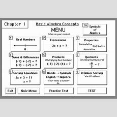 Chapter 1 Learning Basic Algebra Concepts