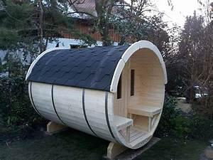 Sauna Für 2 Personen : fass sauna 1 90 x 2 50 m nordische fichte f r 4 personen ~ Articles-book.com Haus und Dekorationen