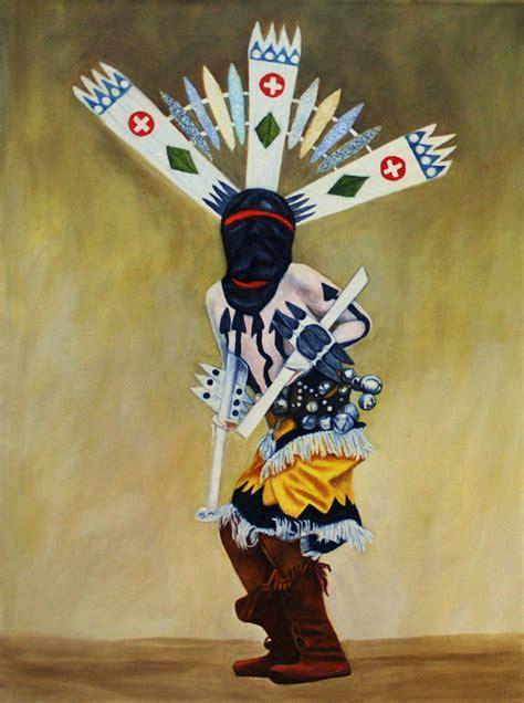 apache spirit crown dancer american indian theme kachina