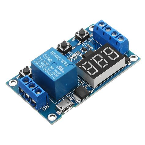 Channel Relay Module Switch Trigger Time Delay