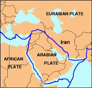 United Arab Emirates  Plate Tectonics In Your Country