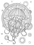 zentangle coloring pages  coloring pages