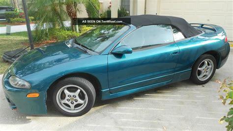 1997 Mitsubishi Eclipse Spyder by 1997 Mitsubishi Eclipse Spyder Gs Convertible 2 Door 2