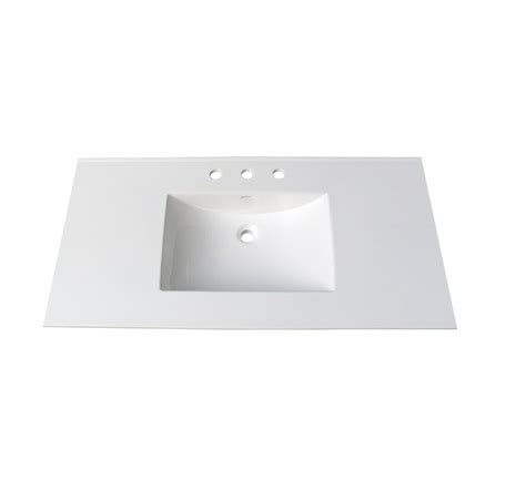 43 vanity top with sink fairmont tc 4322w8 tops 43 white ceramic vanity sink top