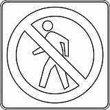 Coloring Signs Traffic Safety Printable Stop Road Template Crossing Clipart Outline Clip Pedestrian Drawing Enter Canada Walking Etc Bestofcoloring Cliparts sketch template
