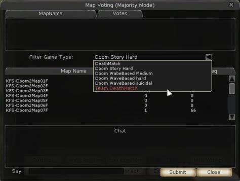 Killing Floor Console Commands Change Map by Mod Voting Handler Fix Tripwire Interactive Forums