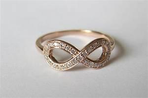 yellow gold and diamond infinity wedding ring onewedcom With infinity wedding ring