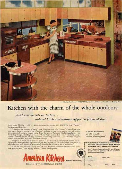 avco american pioneer kitchen brand coppertone  wood