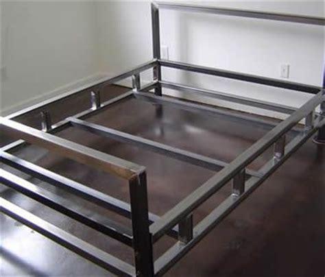 steel welding beds best 25 steel bed frame ideas on steel bed