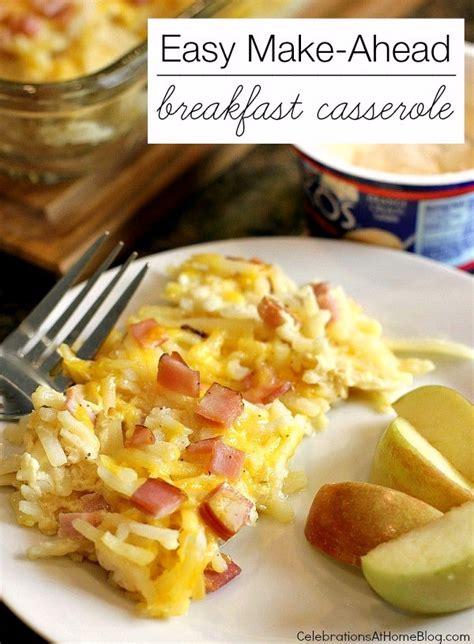 easy brunch casserole recipes easy breakfast casserole recipe dishmaps