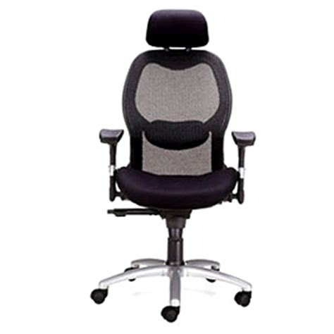 Office Chairs Godrej by Godrej Black And Silver Color Leoma High Back Chair Rs