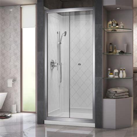 3 Shower Kit by Dreamline Butterfly Chrome 3 Alcove Shower Kit