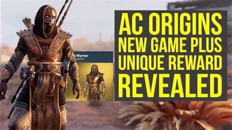 Assassinu0026#39;s Creed Origins New Game Plus Reward REVEALED - New Outfit (AC Origins New Game Plus ...