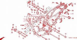 Frame Body For Honda Xr 125 L Electric Start 2005   Honda
