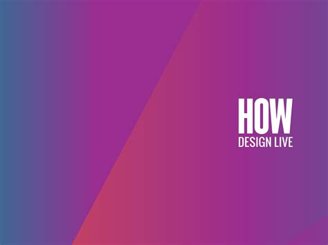 How Design Live Early Bird Rate Ends 1130 — The Dieline