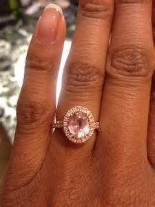 oval wedding ring gold on darker skin tones post pics weddingbee