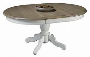 Tables Rondes Extensibles : table ronde ma05 tenons mortaises ~ Teatrodelosmanantiales.com Idées de Décoration