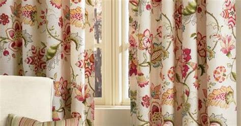 jacobean floral lined grommet top curtains jacobean floral rod pocket with back tab curtains