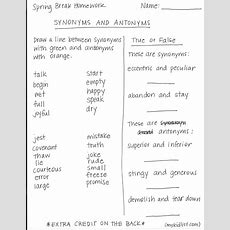 Spring Break Worksheets?!  Kidlist • Activities For Kids