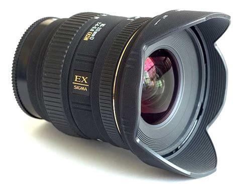 Sigma 10-20mm F4-5.6 Ex Dc A-mount Lens Info