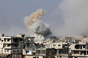 Syrian army and allies step up bombing of rebels in Deraa ...