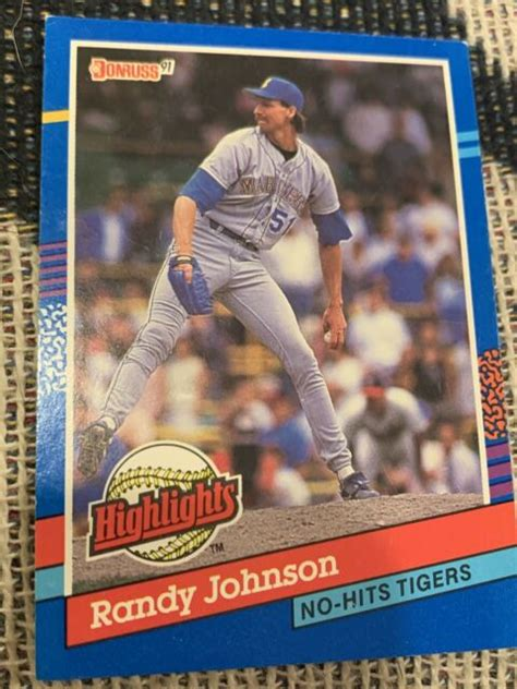 Check spelling or type a new query. 1991 Donruss Randy Johnson #BC-2 Baseball Card for sale online