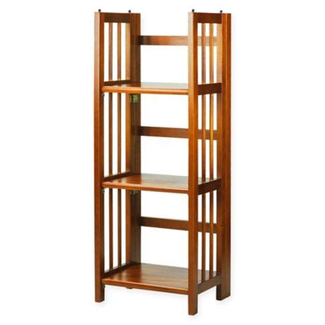 14 Inch Bookcase by 3 Shelf Folding 14 Inch Wide Bookcase Bed Bath Beyond